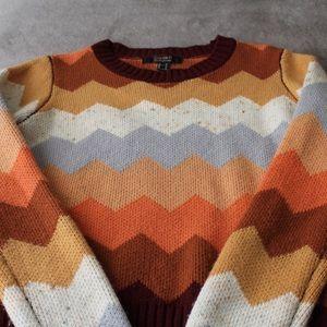 Autumn Colors Knit Sweater